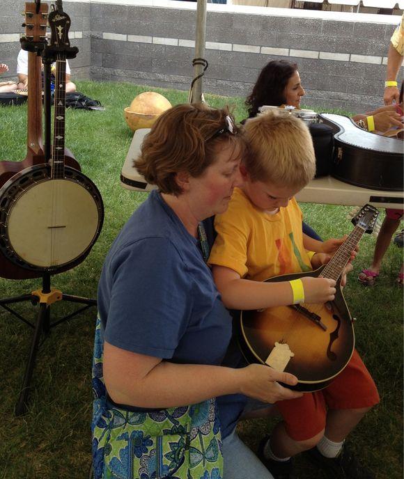 At the ABQ Folk Fest