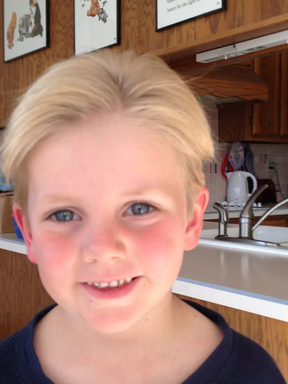 Charlie's haircut