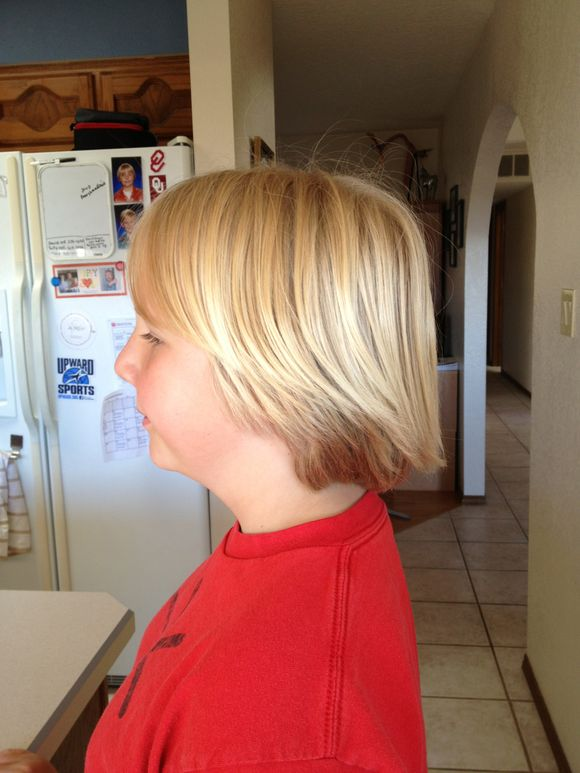 Tommy's haircut